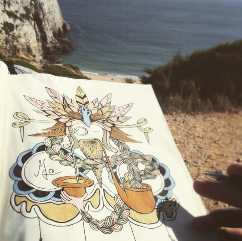 Illu beach Jojo