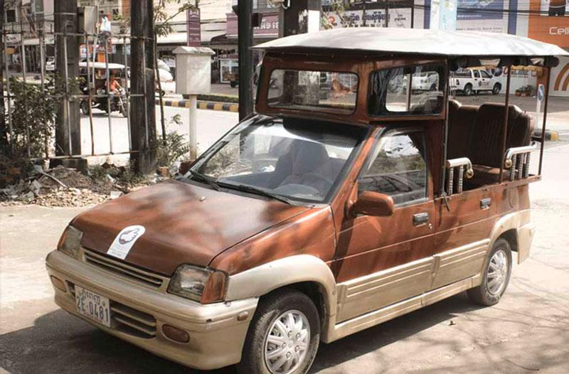 tuktuk auto Sihanoukville City