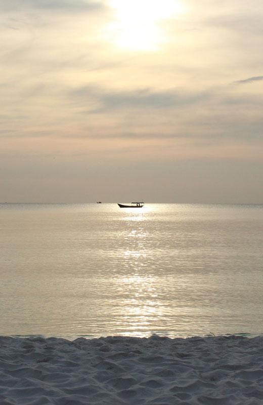 Sonnenuntergang- Koh Rong Cambodia