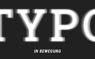Animierte Buchstaben – Typo in Bewegung