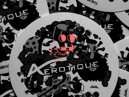 Illustration für Aérotique | Sticker