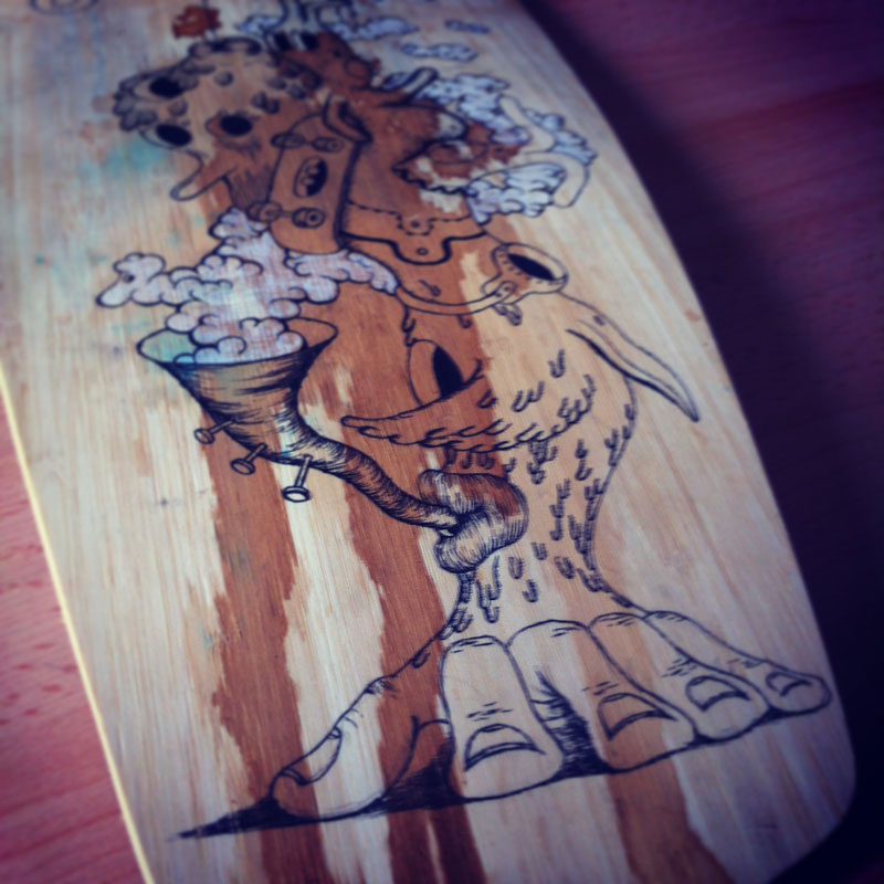 Longboard - Deer