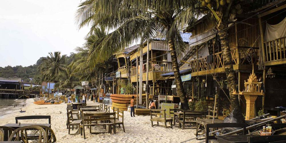 strand Koh Rong Cambodia