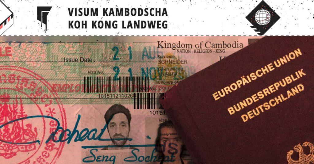 Visum-Kambodscha-Online