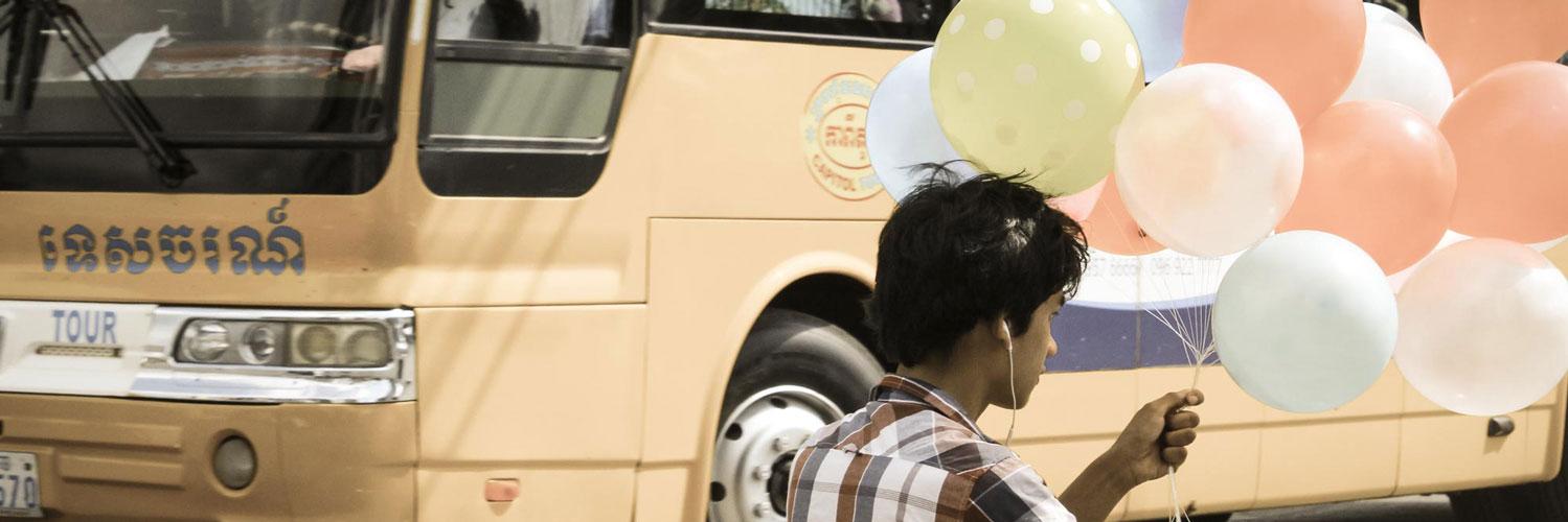 Sihanoukville city bus