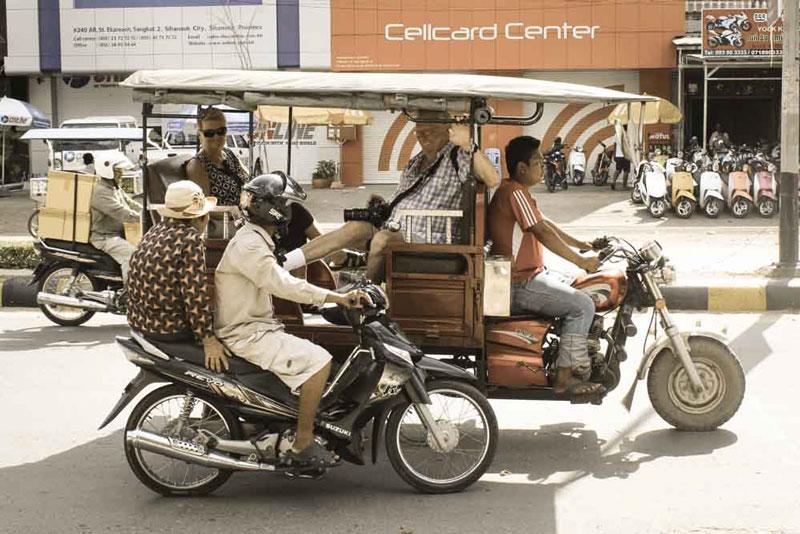 tuktuk Sihanoukville City