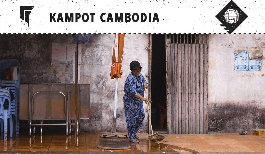 Kampot Cambodia – Happy Pizza wo der Pfeffer wächst
