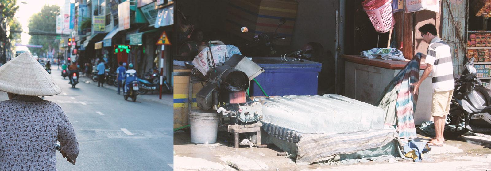 Ice fabrik Chau Doc to Ho Chi Minh