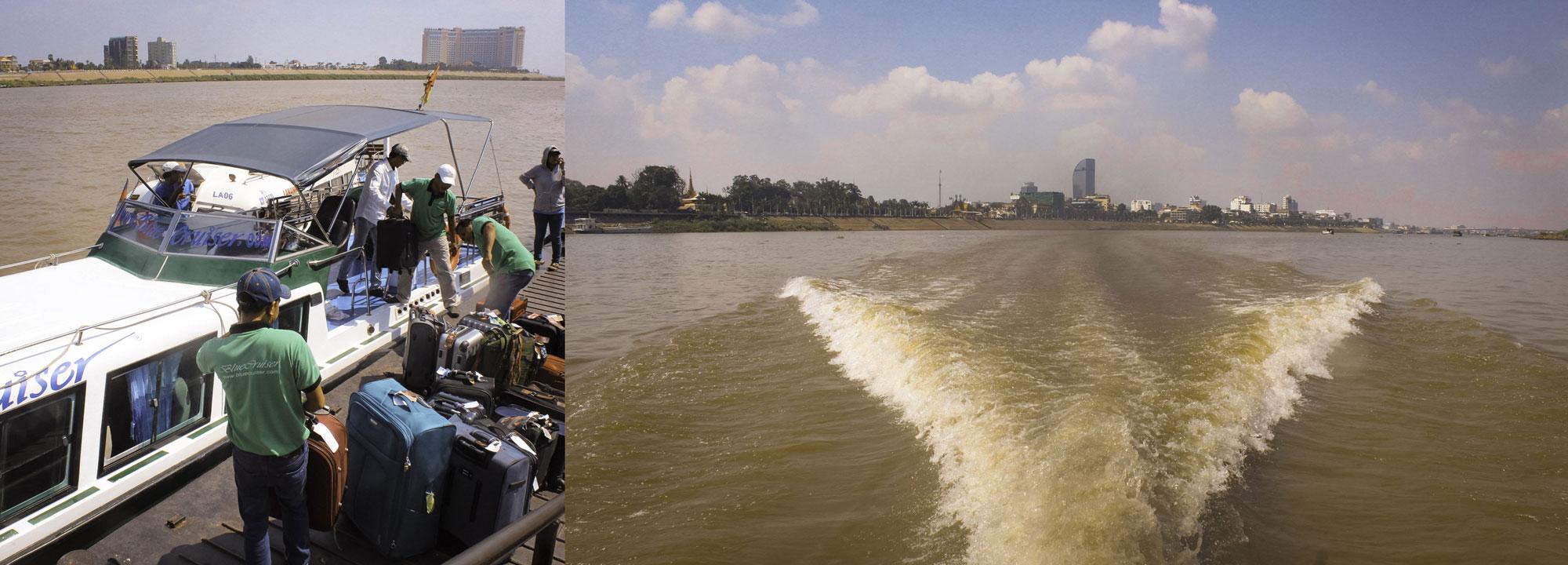 Phnom-Penh-boot Chau Doc to Ho Chi Minh