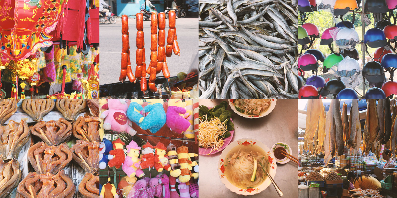 Das leben in Chau Doc to Ho Chi Minh