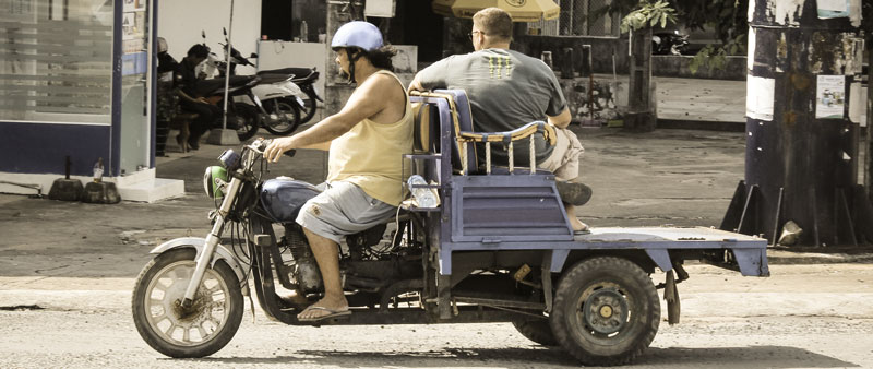 Backpacking Südostasien mobilität