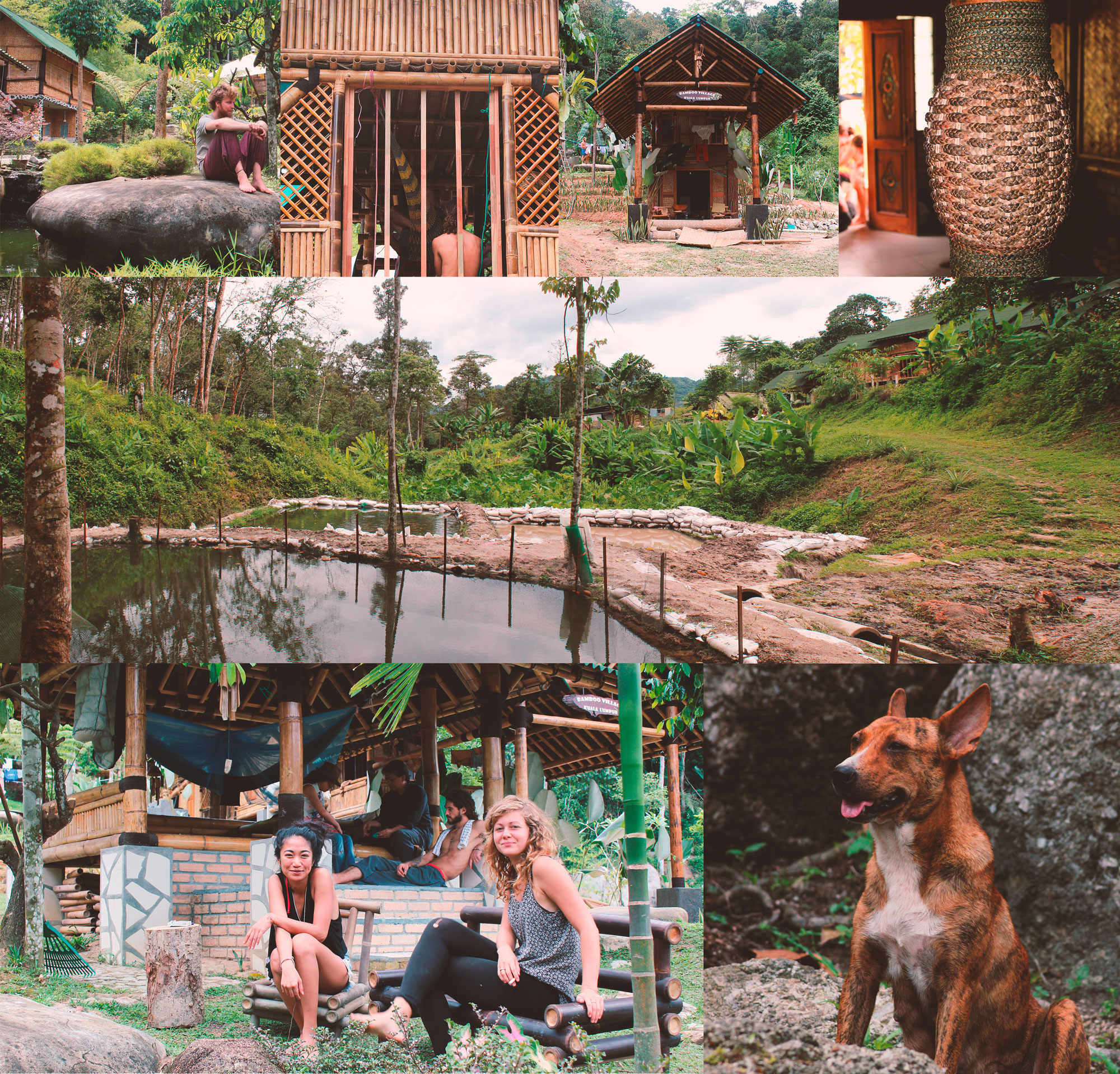 Bamboo village impressionen