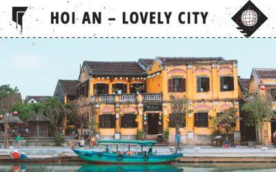 Hoi An City – Shopping, Beach und große Herzen